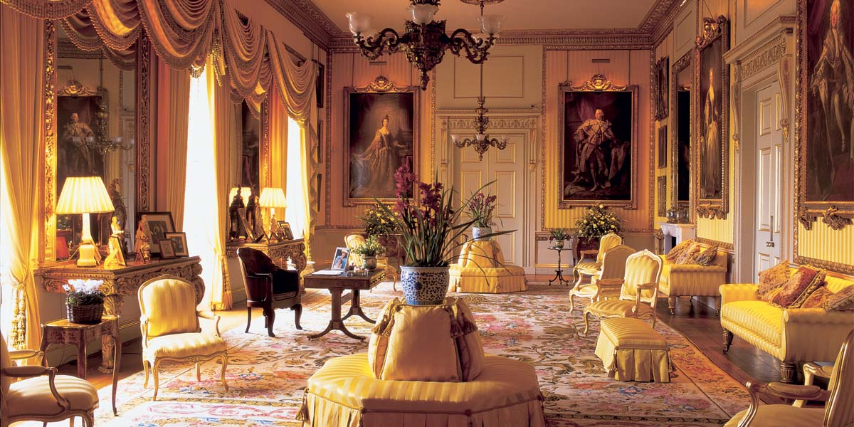 Beautiful Reception Venue The Yellow Drawing Room Goodwood House Prestigious Venues