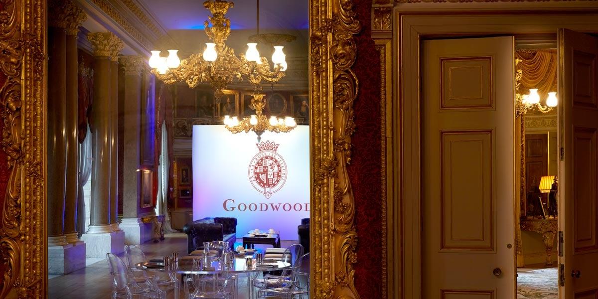 Corporate Events Venue, Goodwood House, Prestigious Venues