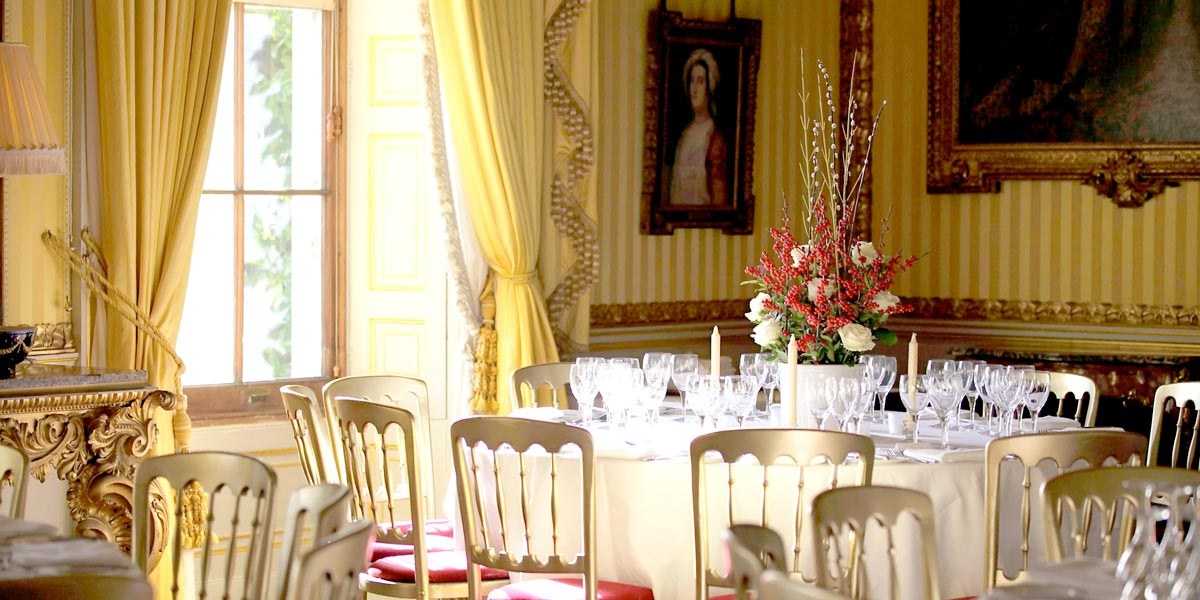 Event Themes, The Yellow Drawing Room, Goodwood House, Prestigious Venues