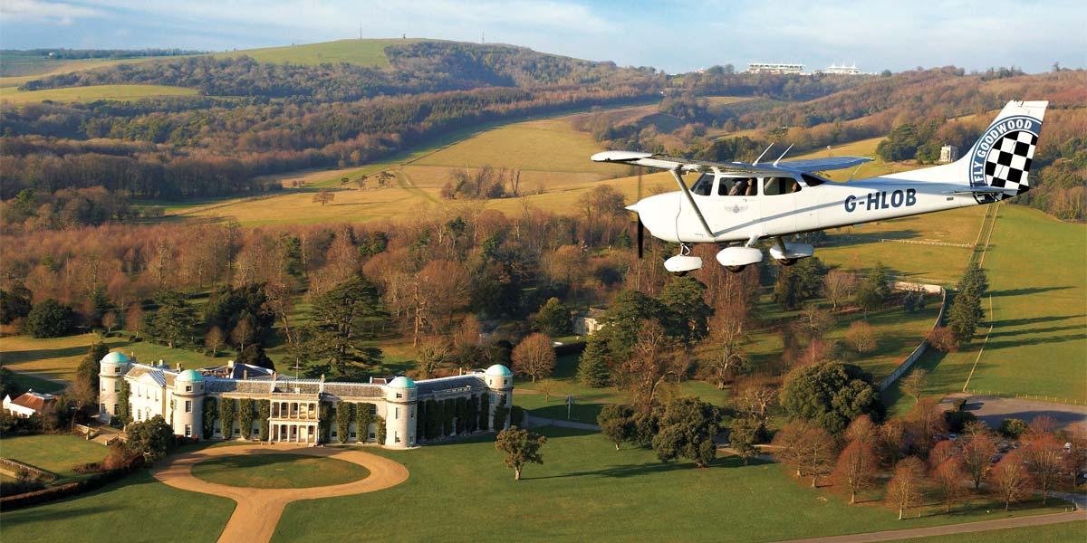 Private Plane Charter, Corporate Hospitality, Goodwood, Prestigious Venues