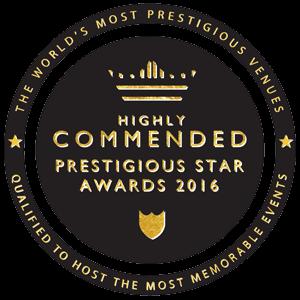 Highly Commended in Prestigious Star Awards 2016