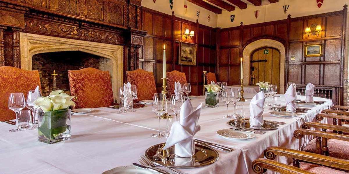 Birthday Party Venues, 50 Birthday Party Venue, Thornbury Castle, Prestigious Venues