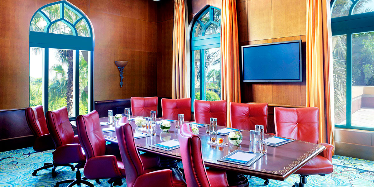 Atlas Boardroom at Atlantis The Palm, Dubai