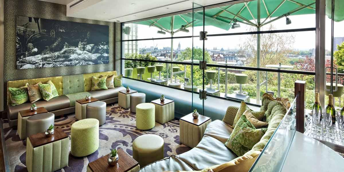 Babylon Restaurant Private Hire, The Roof Gardens, Prestigious Venues