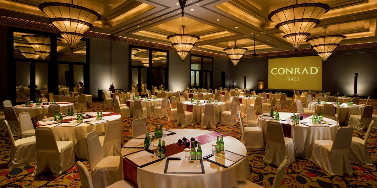Conrad Bali Event Spaces Indonesia Prestigious Venues
