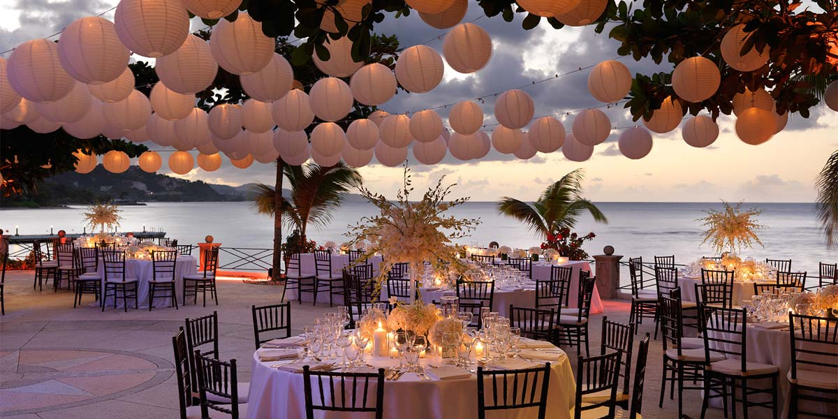 Beach Wedding, Round Hill Resort, Prestigious Venues