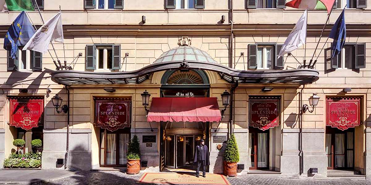Hotel Splendide Royal, Rome