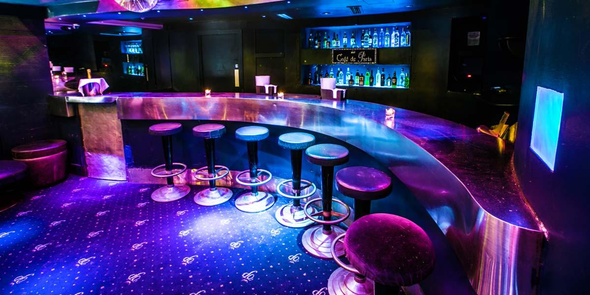 Birthday Party Venue, Cafe de Paris, Prestigious Venues