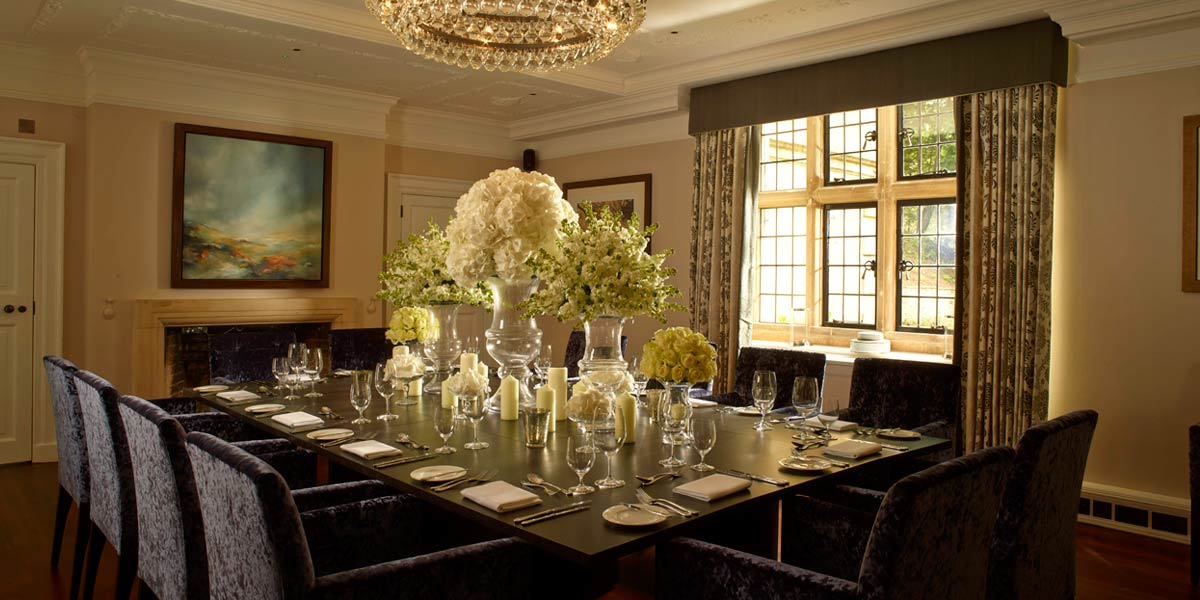 The Dining Room at Farncombe Estate