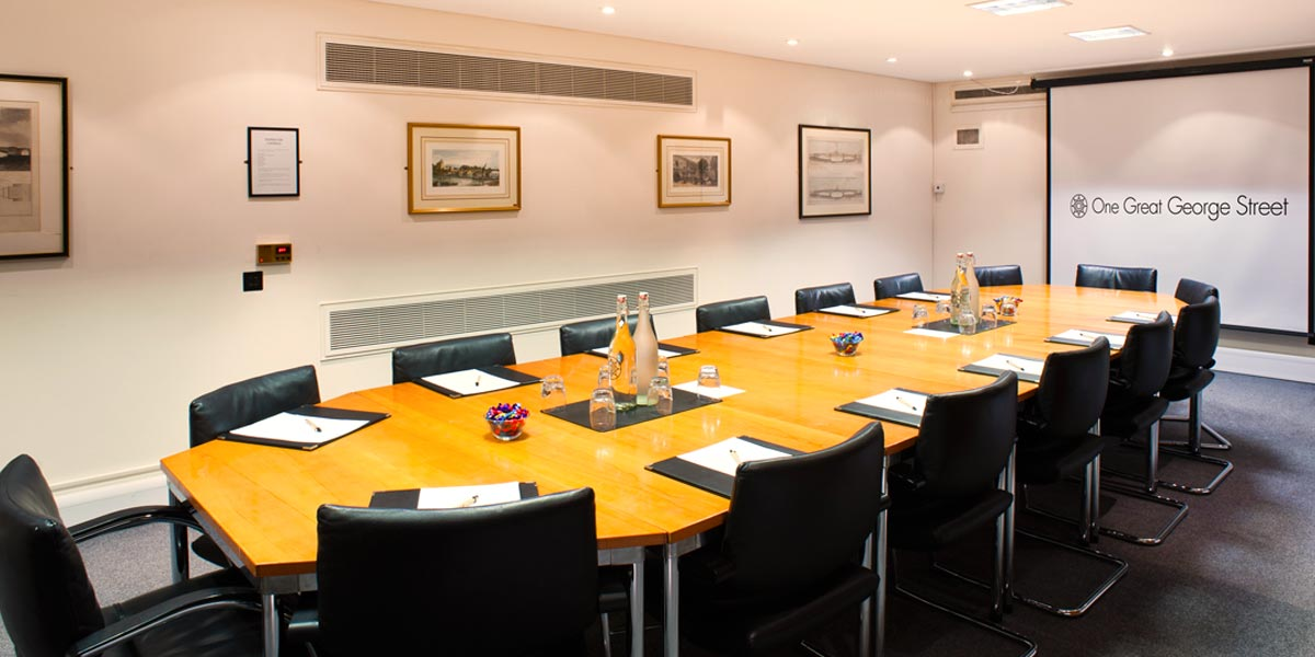 Board Meeting Venue, One Great George Street, Prestigious Venues