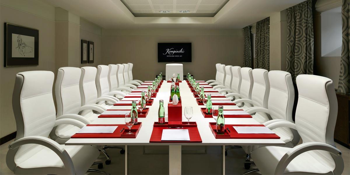 Boardroom Meeting Venues, Palais Hansen Kempinski, Vienna, Prestigious Venues