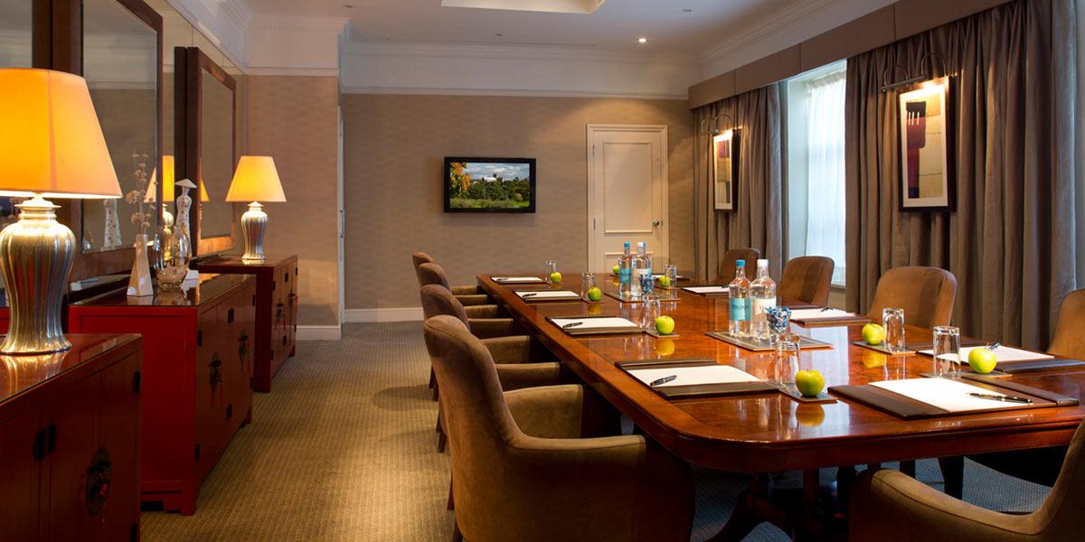 Boardroom, Sopwell House, Prestigious Venues