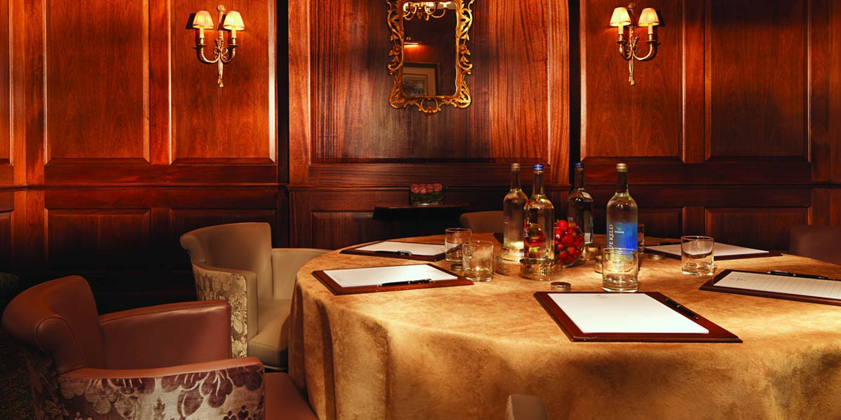 Seminar Venues, Business Meeting Venue In Central London, The Stafford London, Prestigious Venues