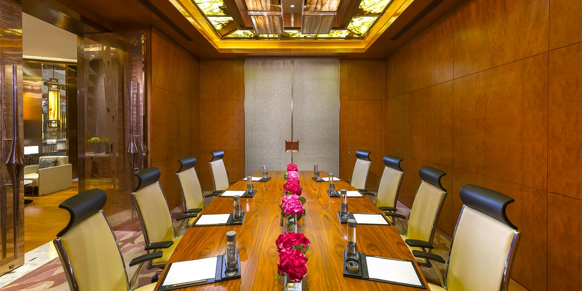 The Boardroom at Mandarin Oriental Pudong, Shanghai
