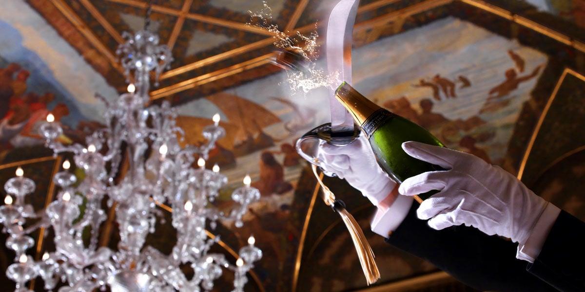 Champagne Rituals For Events, St Regis Rome, Prestigious Venues