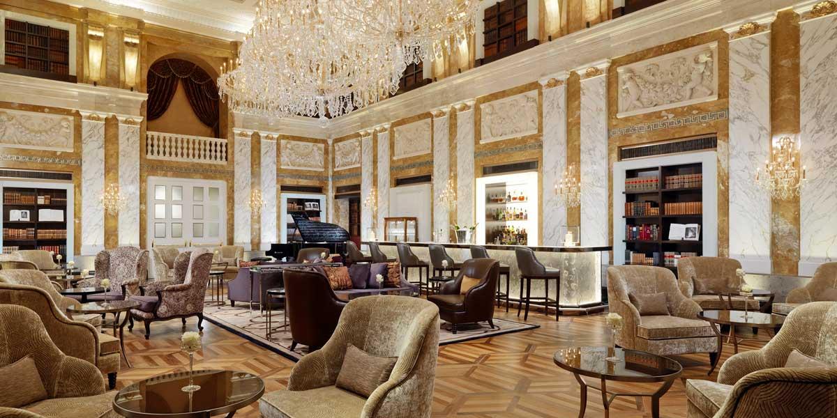 Film Location Venues, Chandeliers And Gold Interiors, Hotel Imperial Vienna, Prestigious Venues