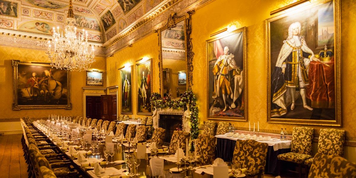 Christmas Party Venue, Brocket Hall, Prestigious Venues