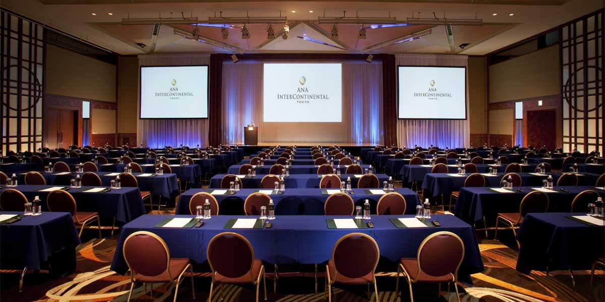 The Prominence Ballroom at ANA InterContinental Tokyo