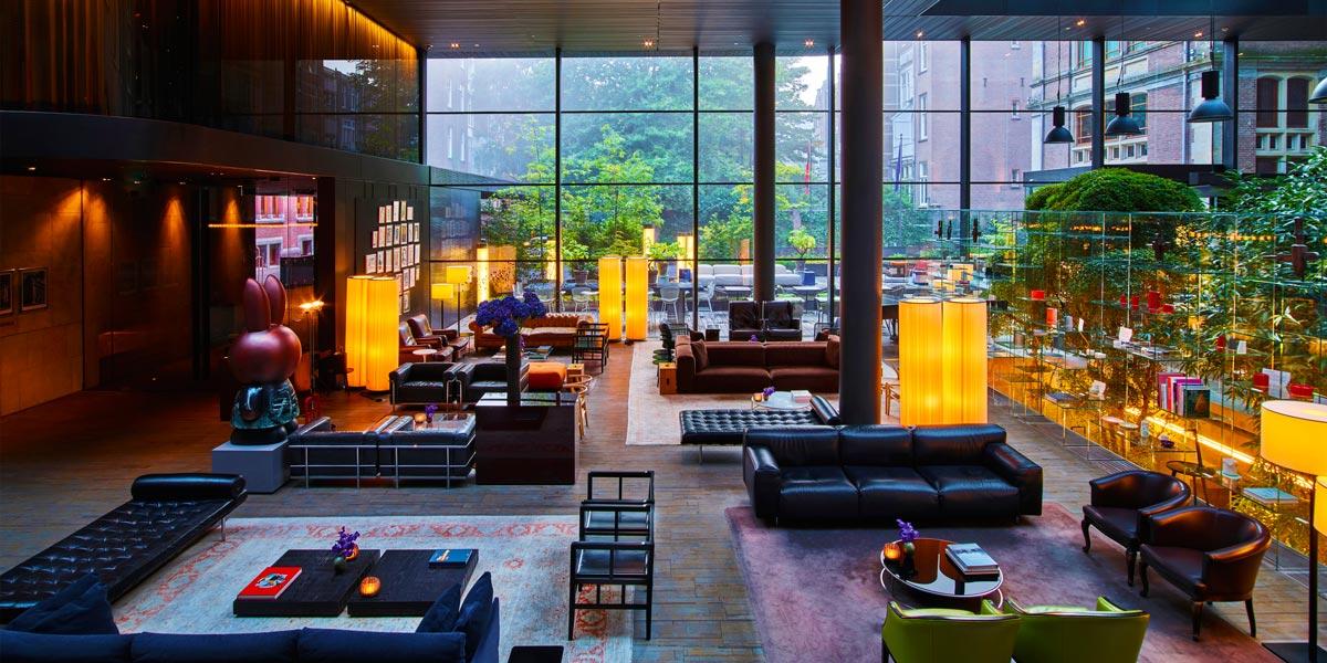 Corporate Event Venue in Amsterdam, Hotel Lounge, Conservatorium Hotel, Prestigious Venues