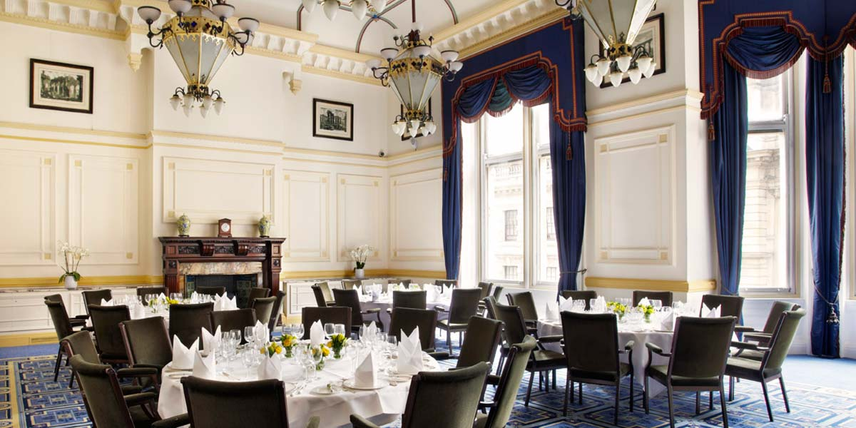 Corporate Lunch Venue, One Whitehall Place, Prestigious Venues