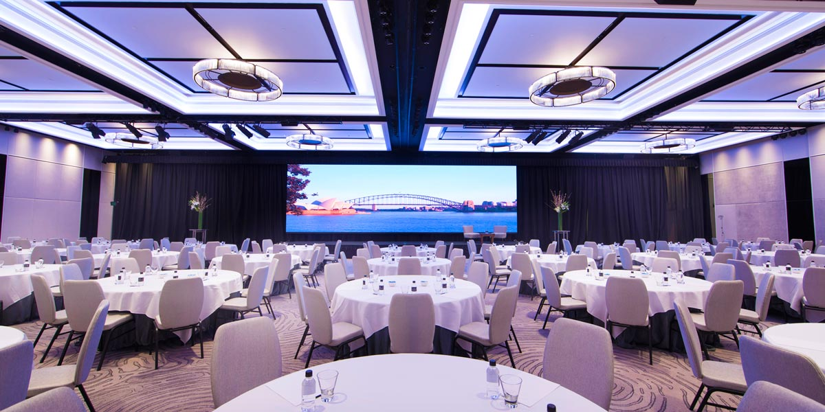 Grand Ballroom at Four Seasons Hotel Sydney