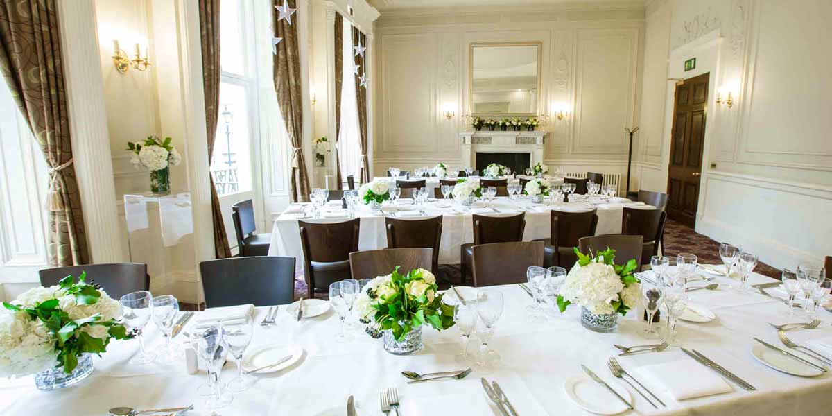 Dinner In The Garden Room, 58 Prince's Gate, Prestigious Venues