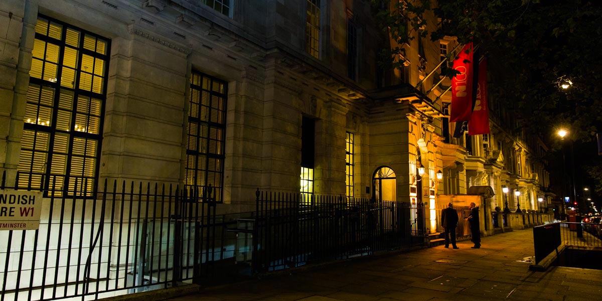 Events At 20 Cavendish Square, Prestigious Venues