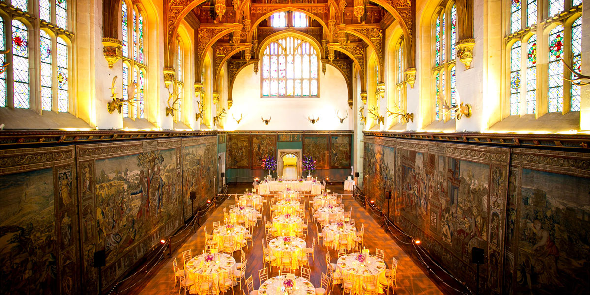 Gala Dinner At The Hampton Court Palace, Prestigious Venues
