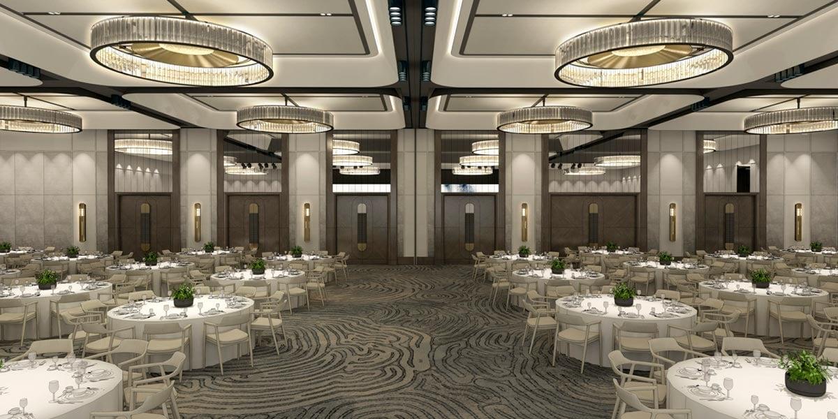 Gala Dinner Ballroom, Four Seasons Hotel Sydney, Prestigious Venues