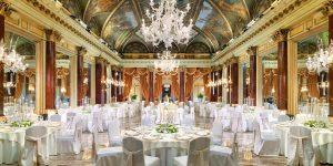 Gala Dinner In The Ritz Ballroom, St Regis Rome, Prestigious Venues
