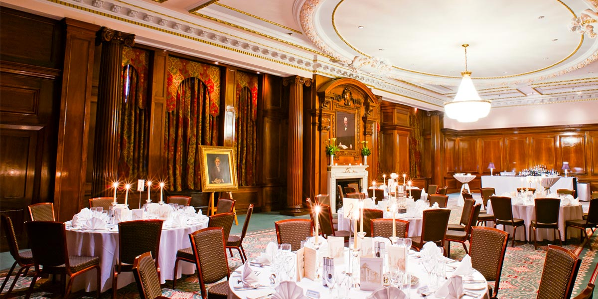 Gala Dinner Smeaton Room, One Great George Street, Prestigious Venues