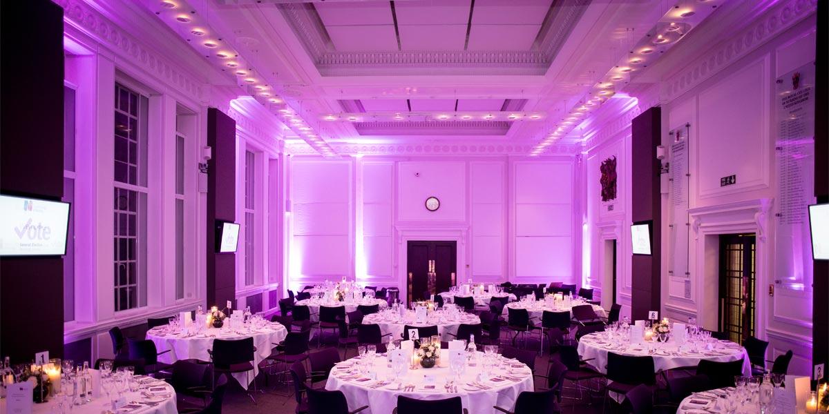 Gala Dinner Venue, 20 Cavendish Square, Prestigious Venues