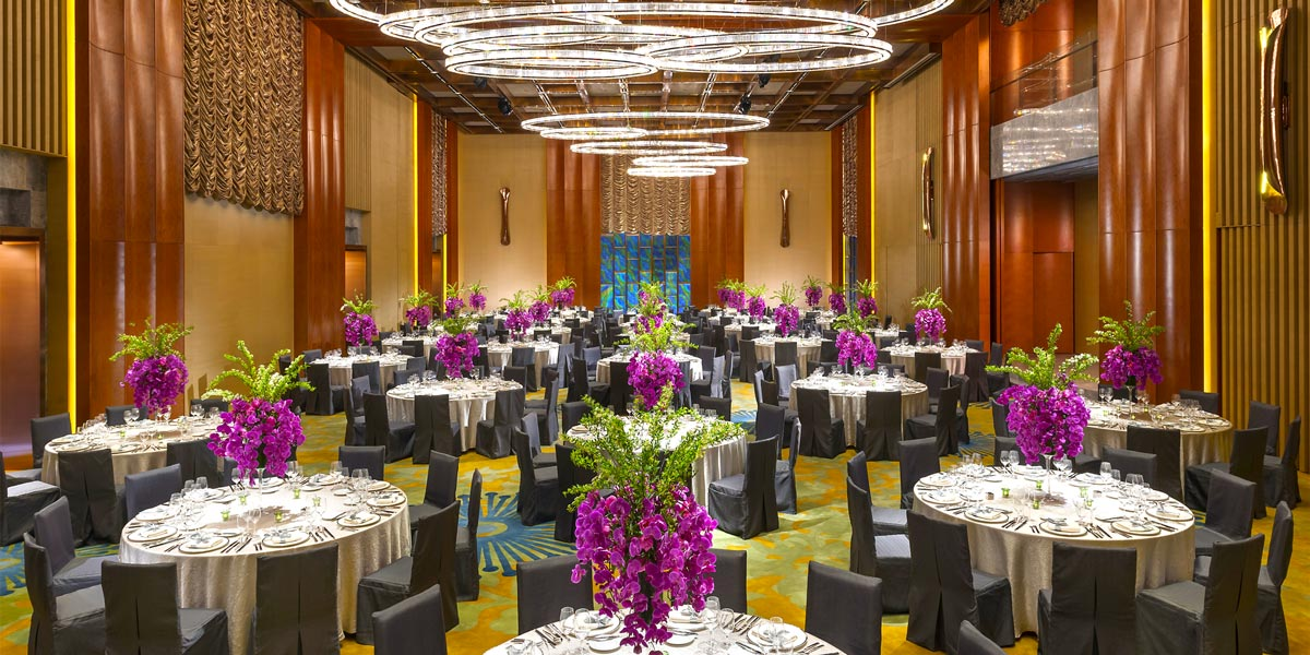 The Grand Ballroom at Mandarin Oriental Pudong, Shanghai