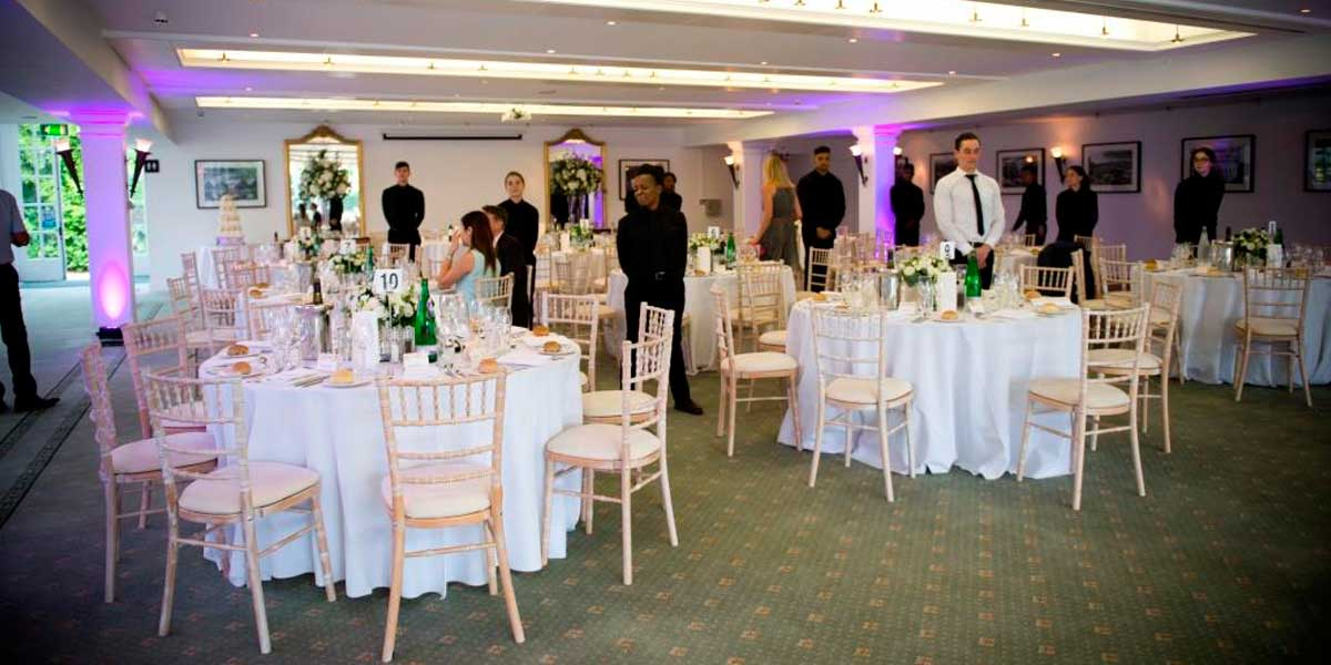 Garden Room Dinner, Hampton Court Palace, Prestigious Venues