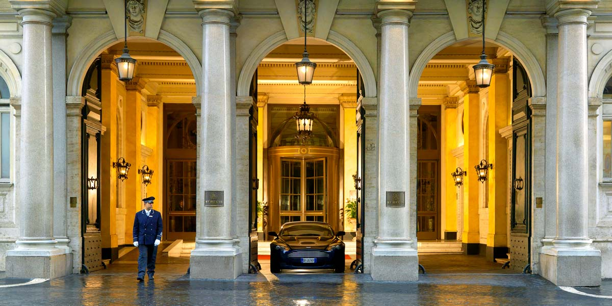 Grand Entrance, St Regis Rome, Prestigious Venues