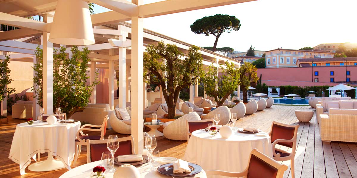 Liquid Garden at Gran Melia Rome Villa Agrippina