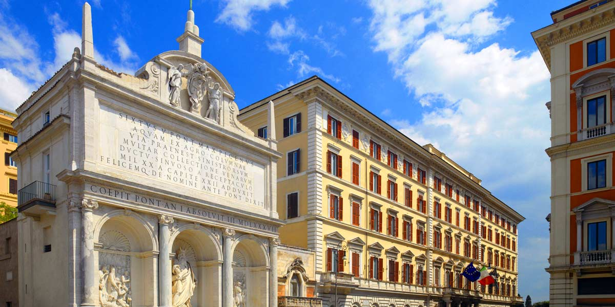 The St. Regis Hotel Rome