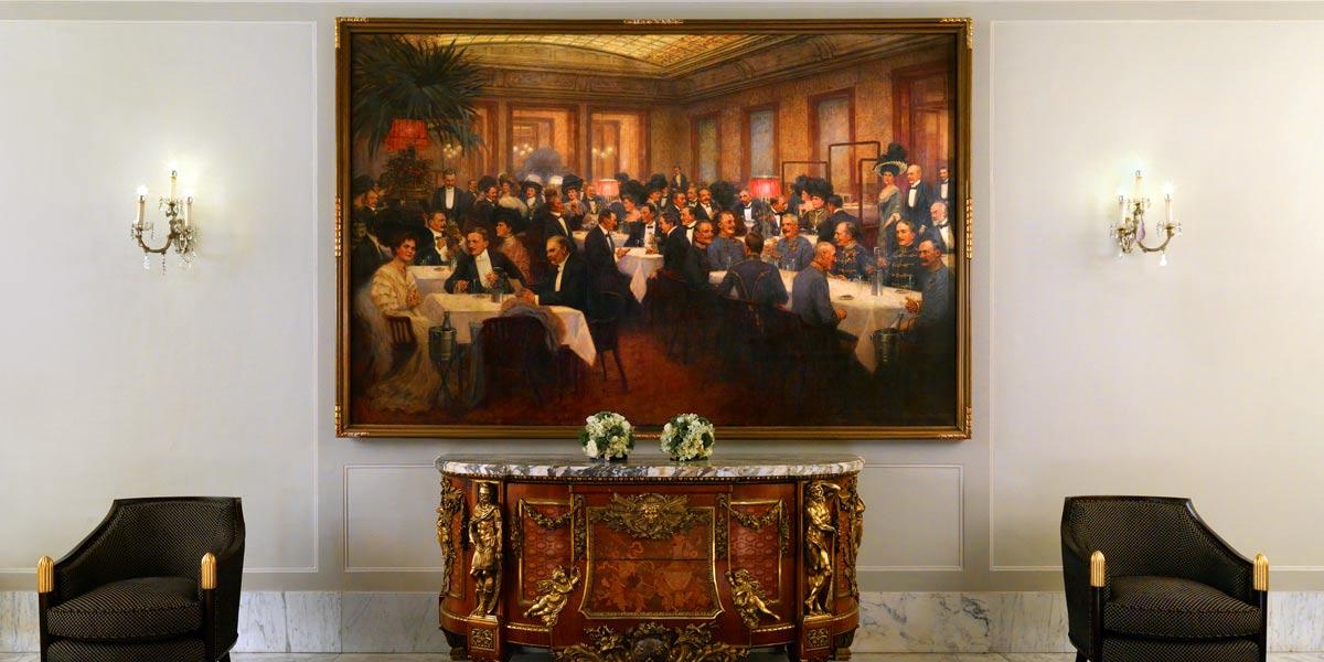 Historic Viennese Hotel, Hotel Bristol Vienna, Prestigious Venues