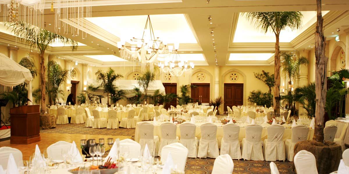 Banqueting Venues, Indoor Banquet Venue, Aphrodite Hills Resort Cyprus, Prestigious Venues