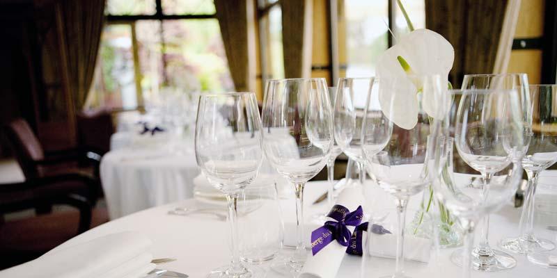 Intimate Dining, Auberge Du Lac, Hertfordshire, Prestigious Venues