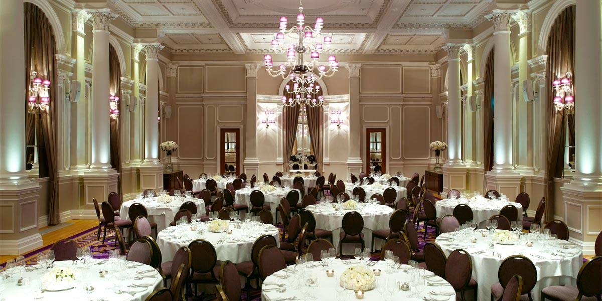 Large Ballroom In London, Corinthia Hotel London, Prestigious Venues
