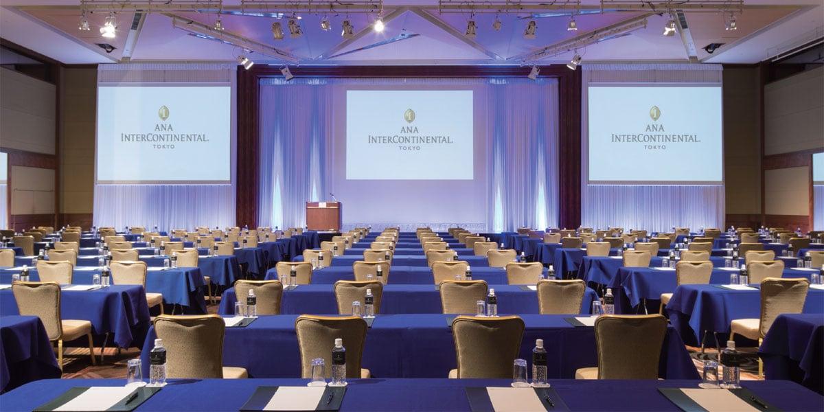 Ana Intercontinental Tokyo Event Spaces Prestigious Venues