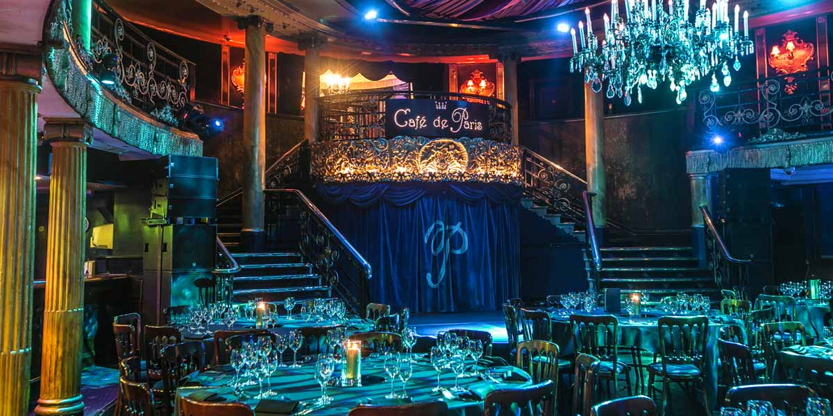 Cafe De Paris Event Spaces London Prestigious Venues