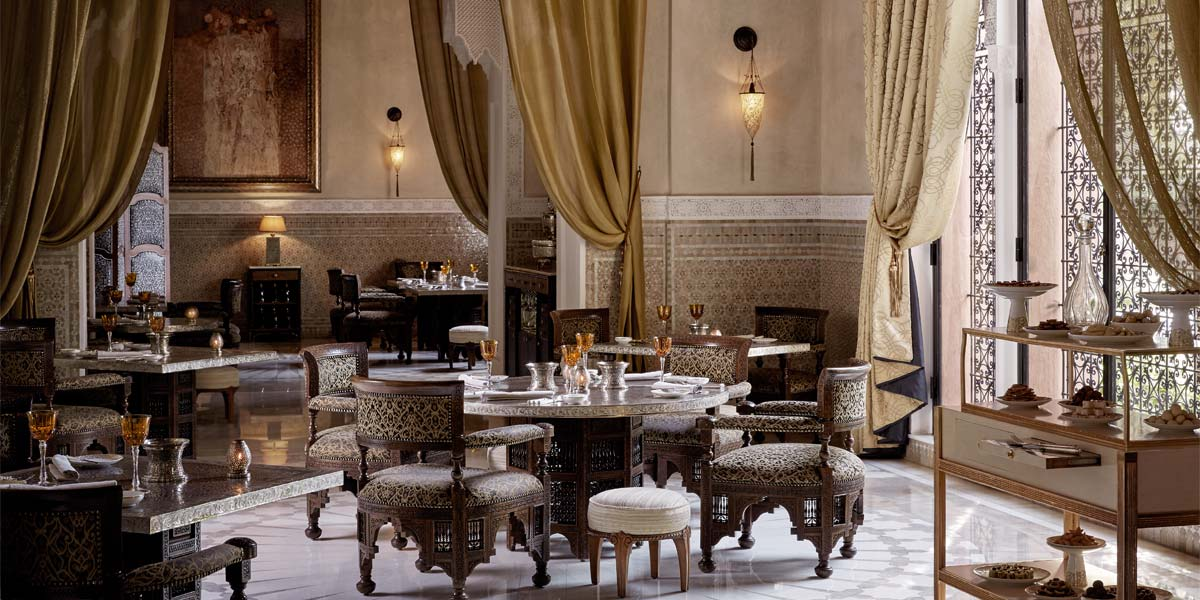 La Grand Table Marocaine at Royal Mansour Marrakech