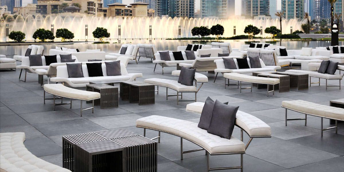Armani hotel dubai event spaces prestigious venues Armani hotel in burj khalifa