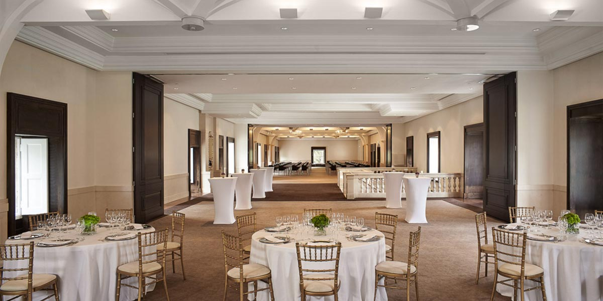 The Coroa Ballroom at Penha Longa Resort