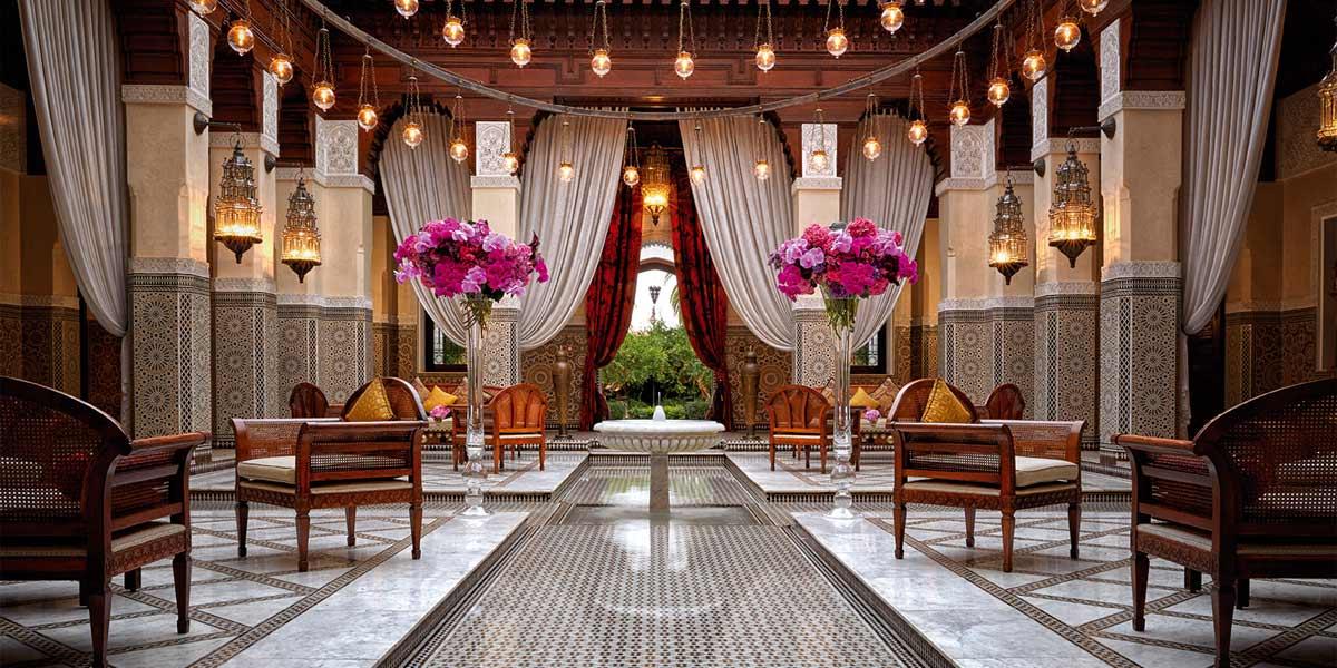 Royal mansour marrakech event spaces prestigious venues for Design hotel marrakech