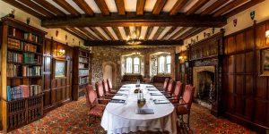 Meeting Venue In A Castle, Thornbury Castle, Prestigious Venues