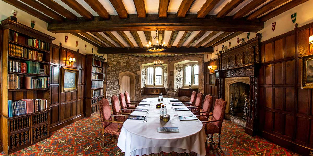 The Baron's Sitting Room at Thornbury Castle