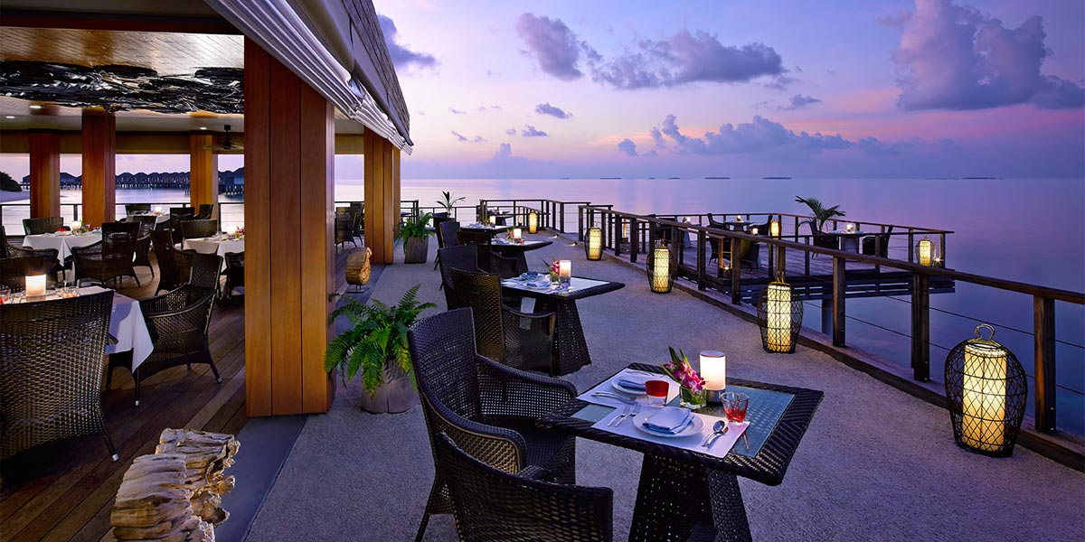 The Benjarong Restaurant at Dusit Thani Maldives